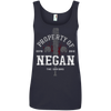 Property of Negan - Ringspun Tank Top