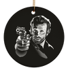 Rick Grimes Christmas Ornaments