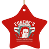 Eugene's Barber Shop Christmas Ornaments