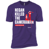 Negan Killed The Cameraman - Premium Ringspun T-Shirt