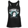 Eugene's Barber Shop - Juniors Racerback Tank