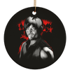 Daryl Dixon Christmas Ornaments