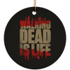 TWD Is Life  Christmas Ornaments