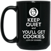 Keep Quiet Coffee Mugs