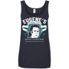 Eugene's Barber Shop - Ladies Ringspun Cotton Tank