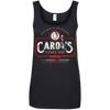 Carol's Flower Shop - Ladies Ringspun Cotton Tank