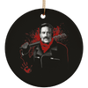 Negan Christmas Ornaments