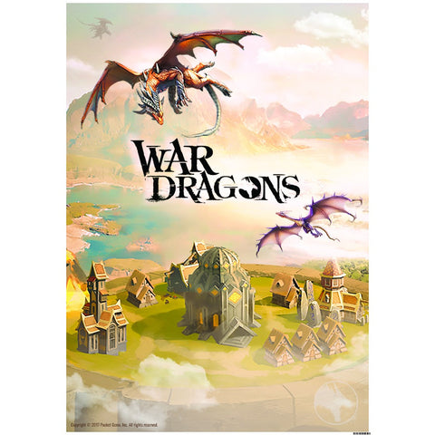 "War Dragons Home Base - 16.5""x23.4"" Poster"