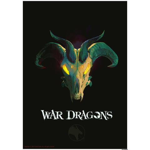 "War Dragons Dragon Skull - 16.5""x23.4"" Poster"