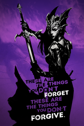 "War Dragons: All Things Burn ""Don't Forget"" - 16.5""x23.4"" Poster"