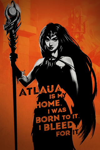 "War Dragons: All Things Burn ""My Home"" - 16.5""x23.4"" Poster"