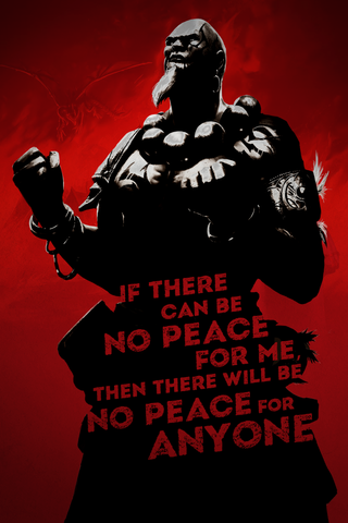 "War Dragons: All Things Burn ""No Peace"" - 16.5""x23.4"" Poster"