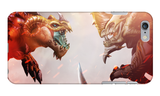 Dragon vs. Dragon - iPhone Case