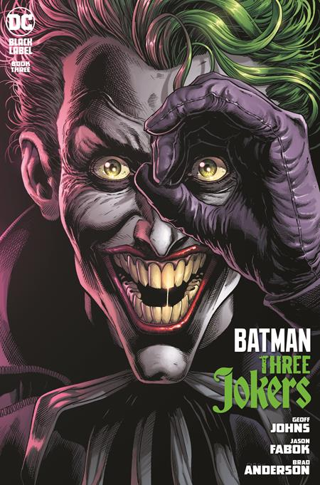 10/27/2020 BATMAN THREE JOKERS #3 (OF 3) CVR A JASON FABOK JOKER (MR)
