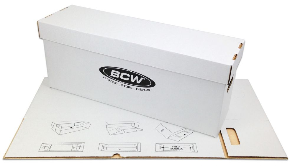 BCW COMIC STORAGE LONG BOX - LOCAL PICKUP ONLY