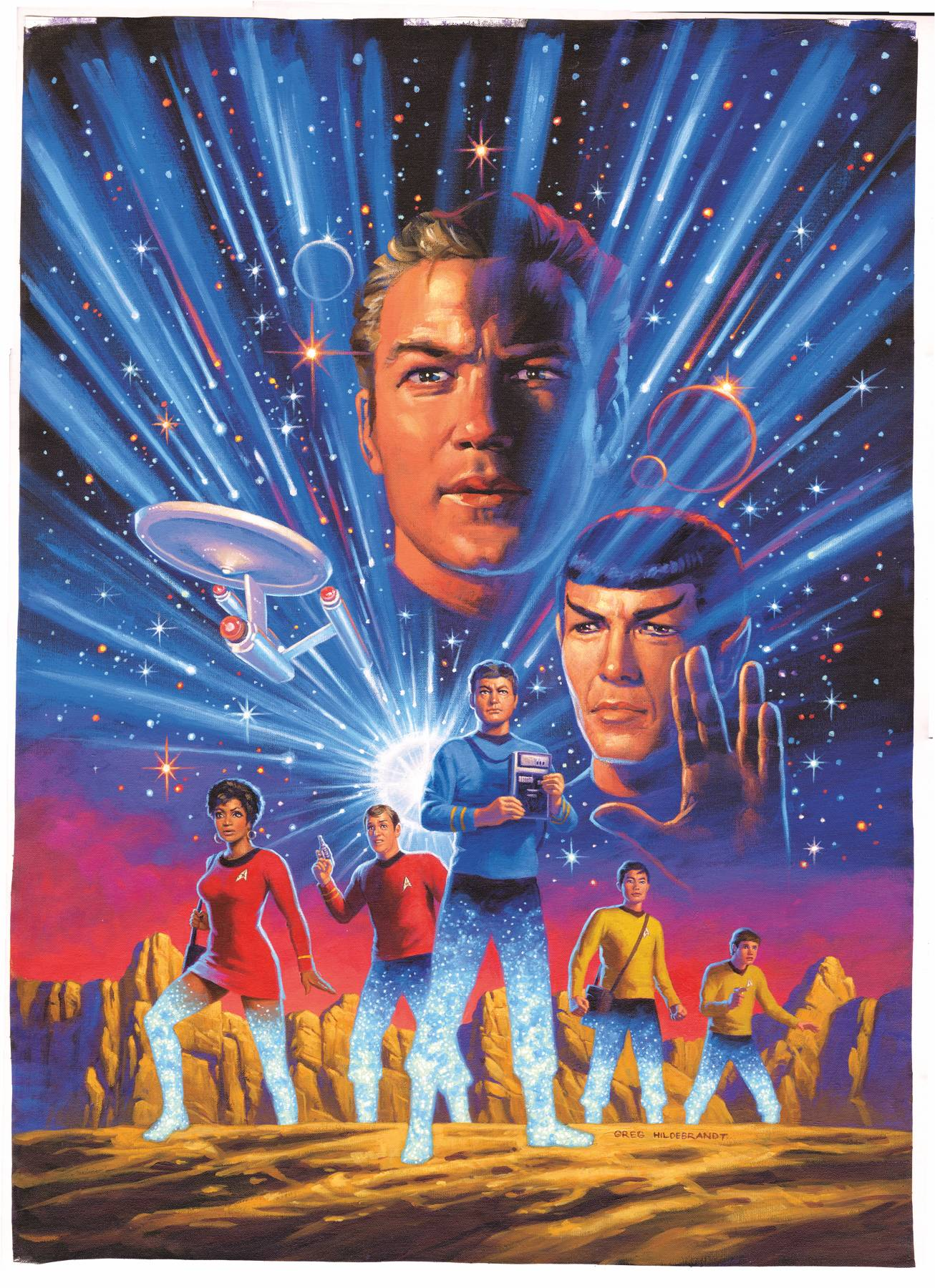 04/24/2019 STAR TREK YEAR FIVE #1 HILDABRANDT