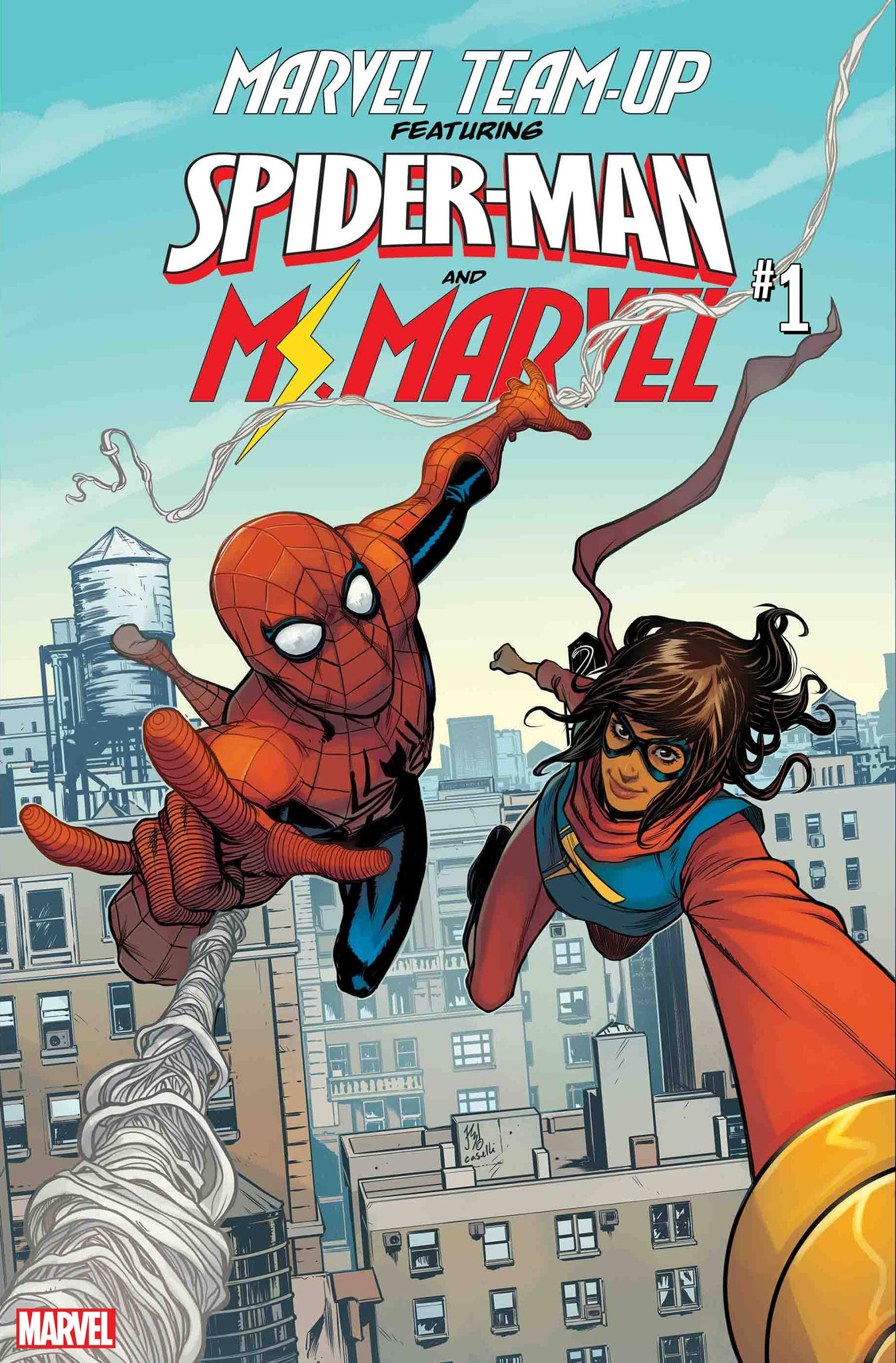 04/03/2019 MARVEL TEAM-UP #1