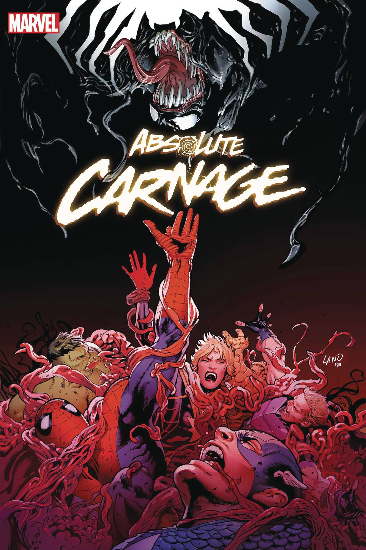11/20/2019 ABSOLUTE CARNAGE #5 (OF 5) LAND VAR AC