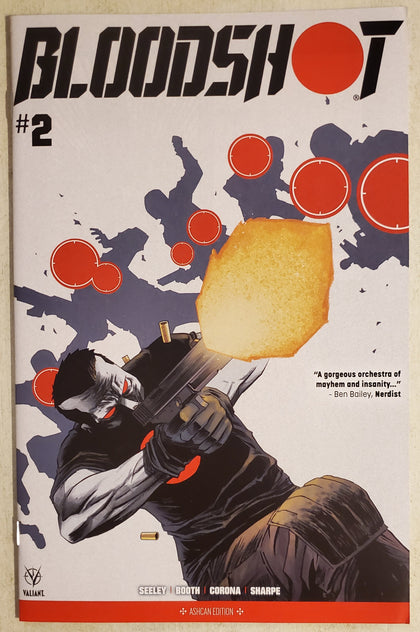 Bloodshot #2 Diamond Retailer Ashcan NYCC Convention Exclusive Variant 2019