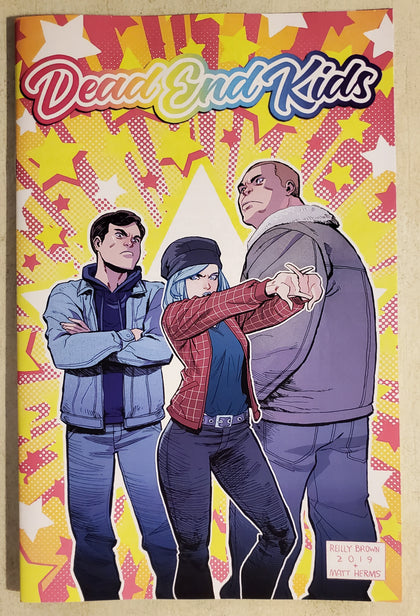 Dead End Kids #1 NYCC Convention Exclusive Reilly Brown Variant 2019 Limited to 100