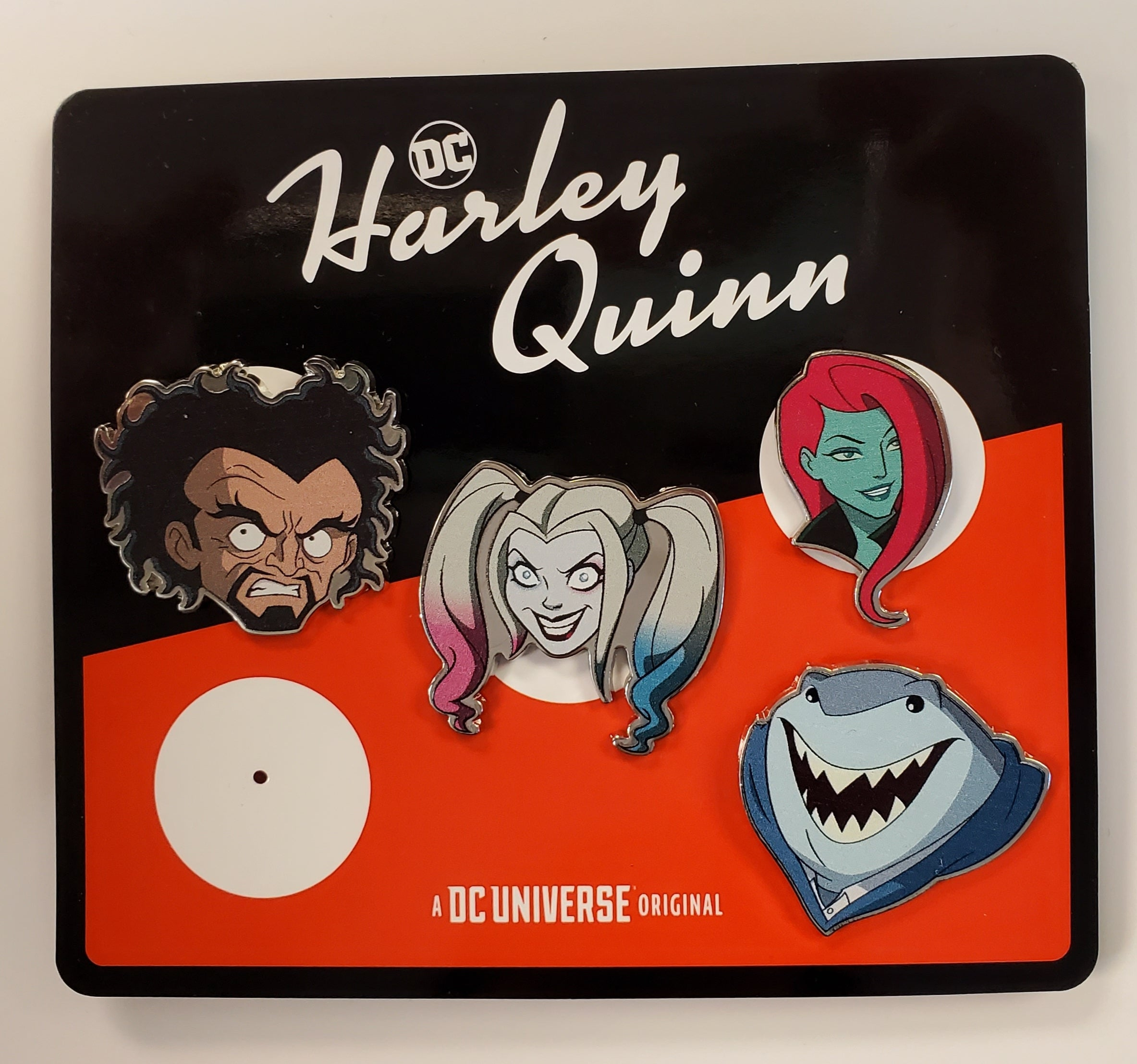 Harley Quinn NYCC Convention Exclusive Pin Set of 4 2019