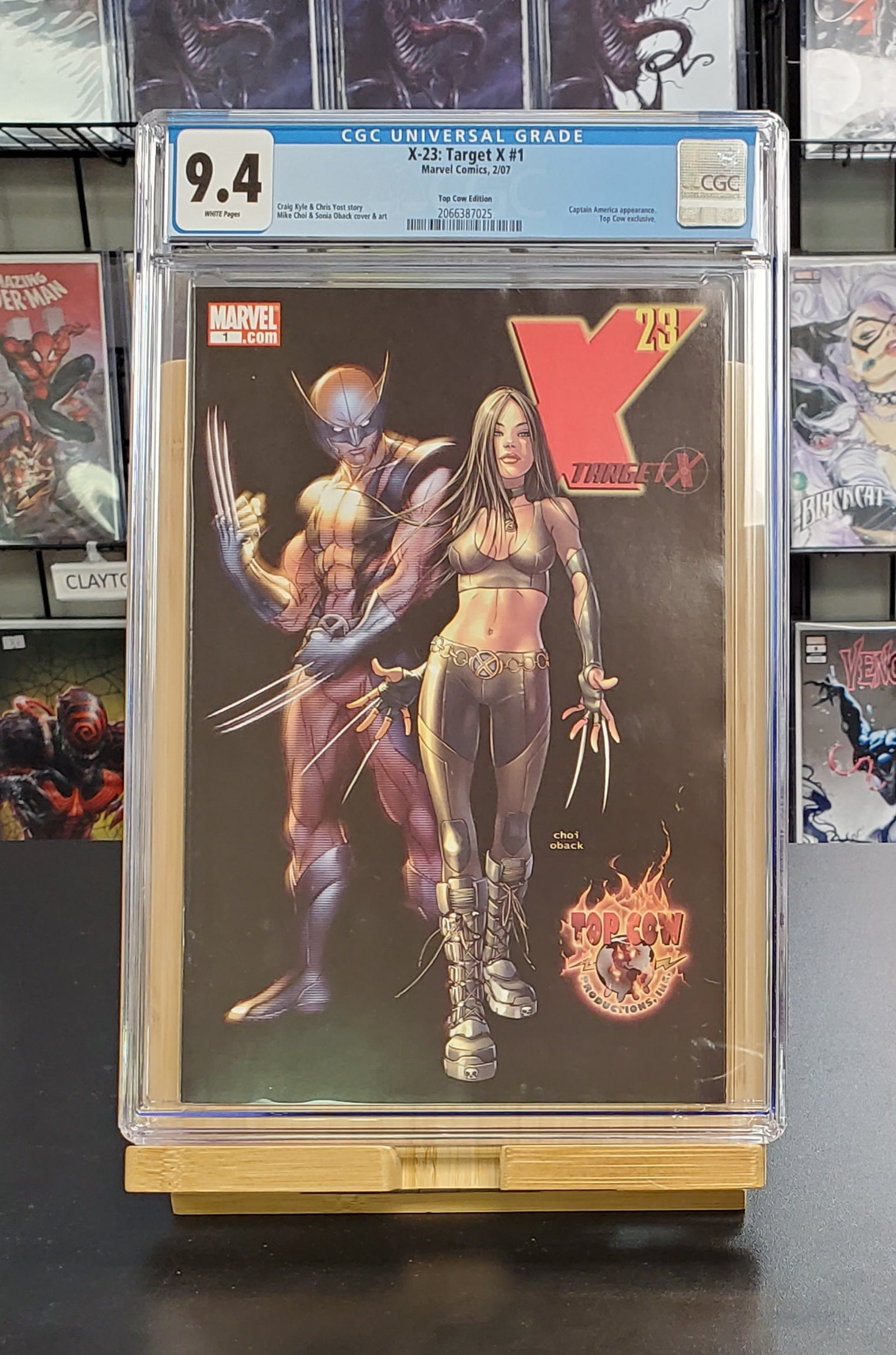 9.4 CGC X-23 Target X #1 Top Cow Variant Mike Choi Marvel Comics 2007