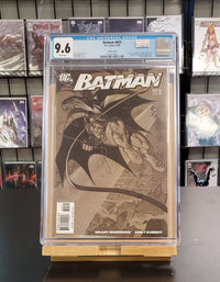 9.6 CGC Batman #655 1:10 Variant 1st App of Damian 2006