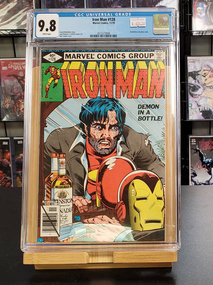 9.8 CGC Iron Man #128 Marvel Comics 1979
