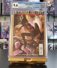 9.6 CGC Ultimate Fallout #4 1:25 Djurdjevic Variant Marvel Comics 2011
