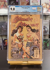 9.8 CGC Wonder Woman #184 Adam Hughes Cover 2002