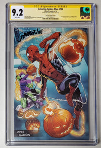 9.2 CGC SS Amazing Spider-Man #798 Young Guns Variant Signed Javier Garron 2018