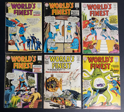 WORLD'S FINEST COMIC LOT OF 6 COMICS (001BRC)