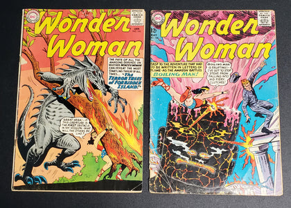 WONDER WOMAN LOT OF 2 COMICS (001BRC)