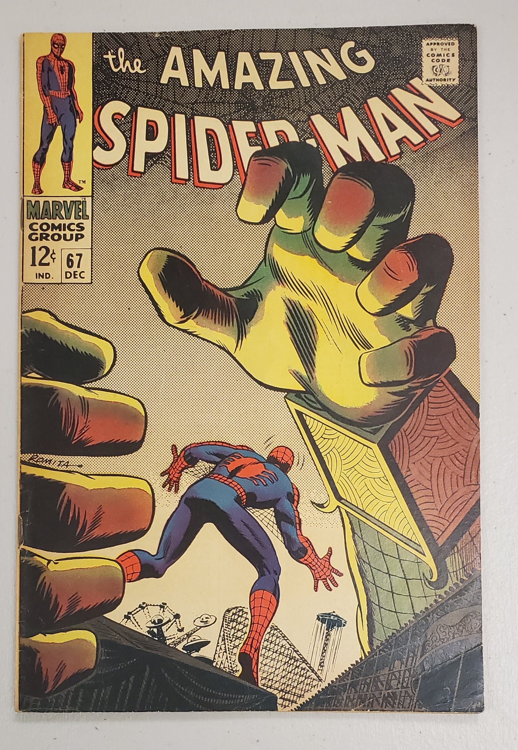 AMAZING SPIDER-MAN #67 1968