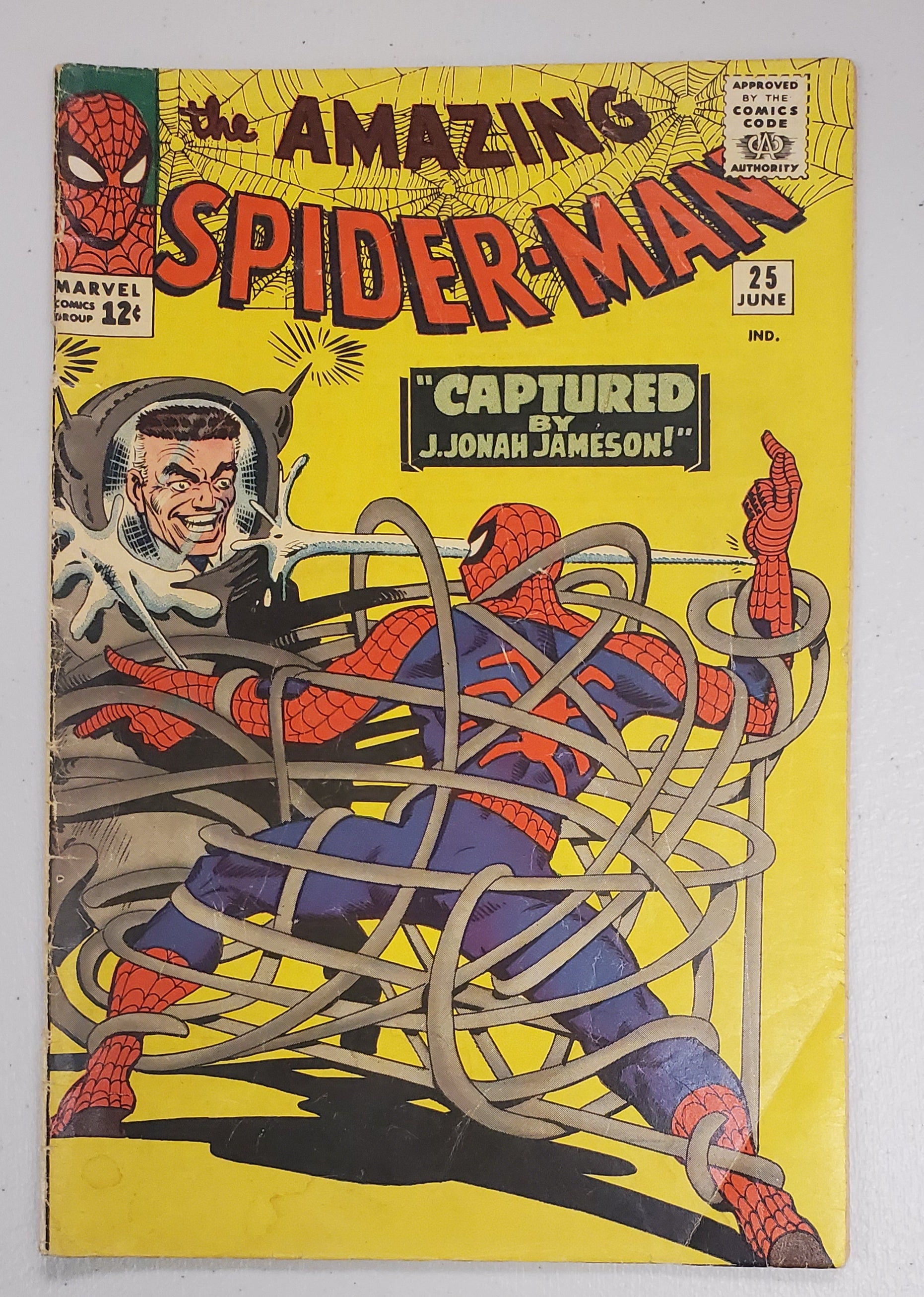 AMAZING SPIDER-MAN #25 1965