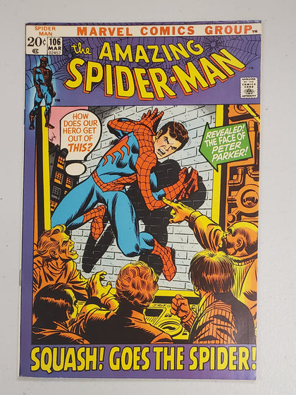 AMAZING SPIDER-MAN #106 1972