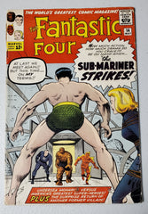 FANTASTIC FOUR #14 (2ND APP PUPPET MASTER) 1963