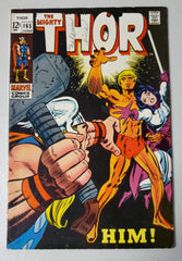 THOR #165 (1ST FULL APP HIM ADAM WARLOCK.  LAST 12 CENT ISSUE) 1969
