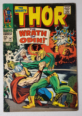 THOR #147 (INHUMANS BACK UP STORY) 1967