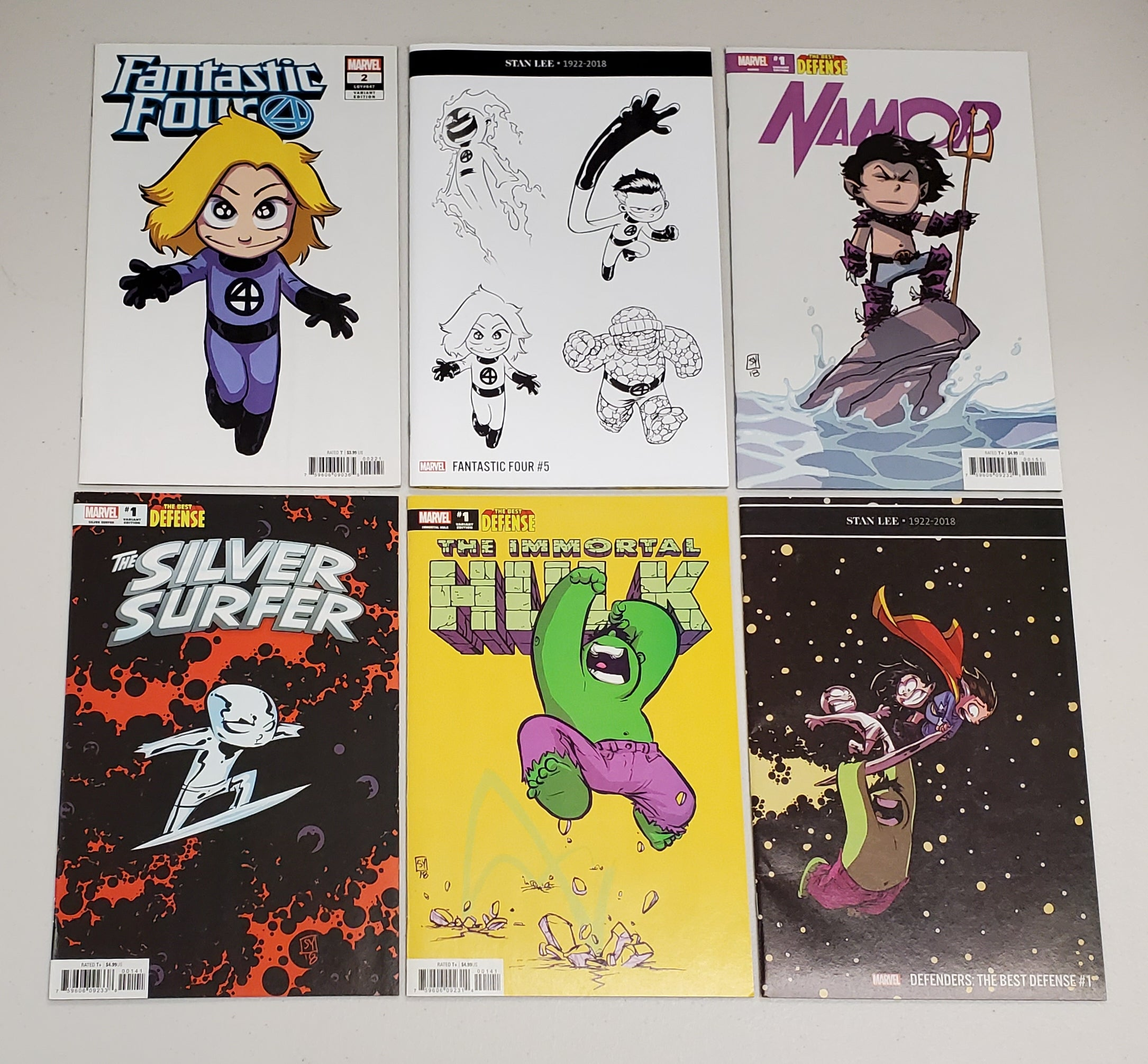 SKOTTIE YOUNG MARVEL LOT 2