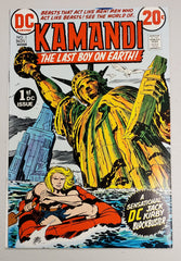 KAMANDI THE LAST BOY ON EARTH #1 (ORIGIN & 1ST APP KAMANDI. 1ST APP DOCTOR CANUS & BEN BOXER) 1972