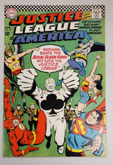 JUSTICE LEAGUE OF AMERICA #43 (1ST APP ROYAL FLUSH GANG) 1966