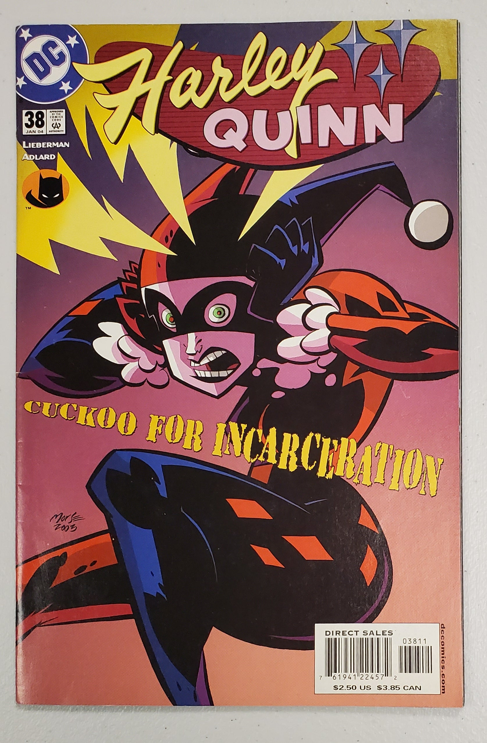 HARLEY QUINN #38 (LAST ISSUE) 2004
