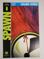 SPAWN #225 OBAMA WINS VARIANT WATCHMEN HOMAGE 2012