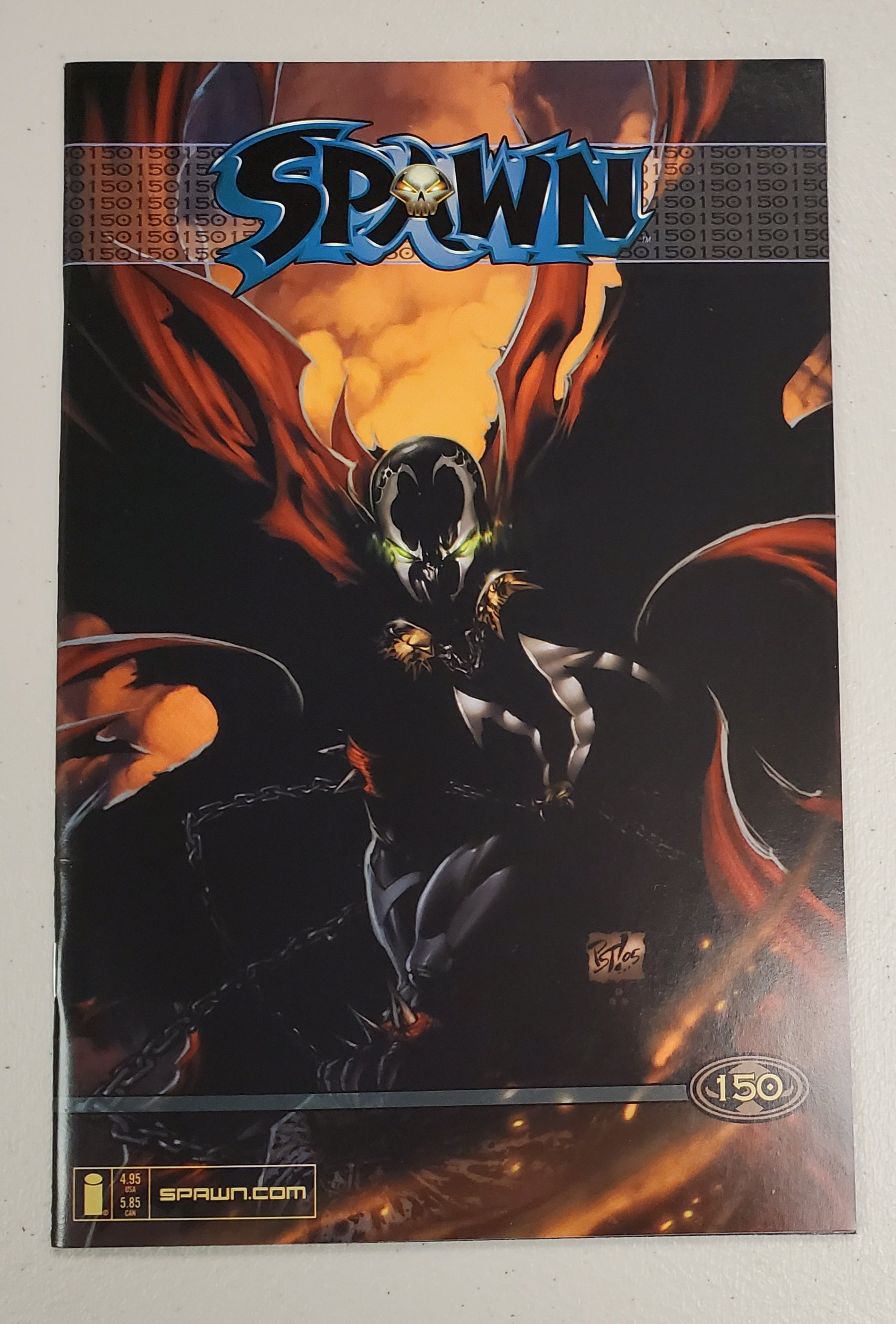 SPAWN #150 PHILIP TAN VARIANT 2005
