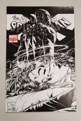 AMAZING SPIDER-MAN #641 1:100 QUESADA SKETCH VARIANT 2010