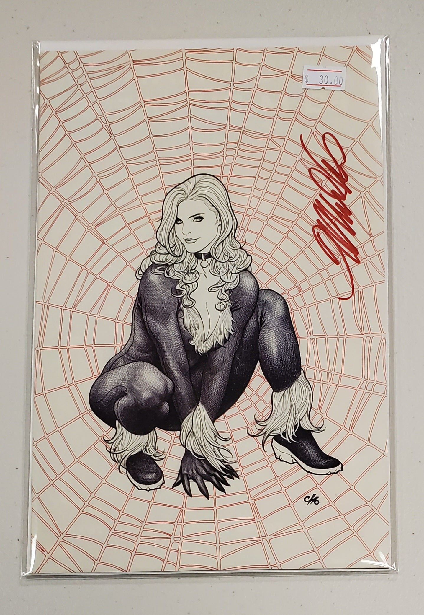 AMAZING SPIDER-MAN #799 VIRGIN VARIANT SIGNED BY FRANK CHO