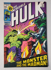 INCREDIBLE HULK #144 (LAST 15 CENT ISSUE) 1971