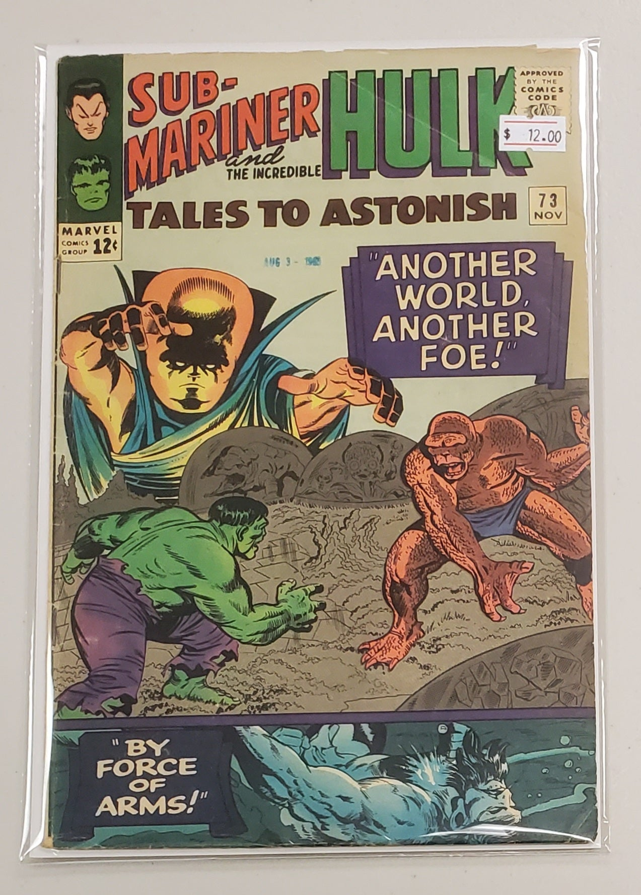 TALES TO ASTONISH #73 1965