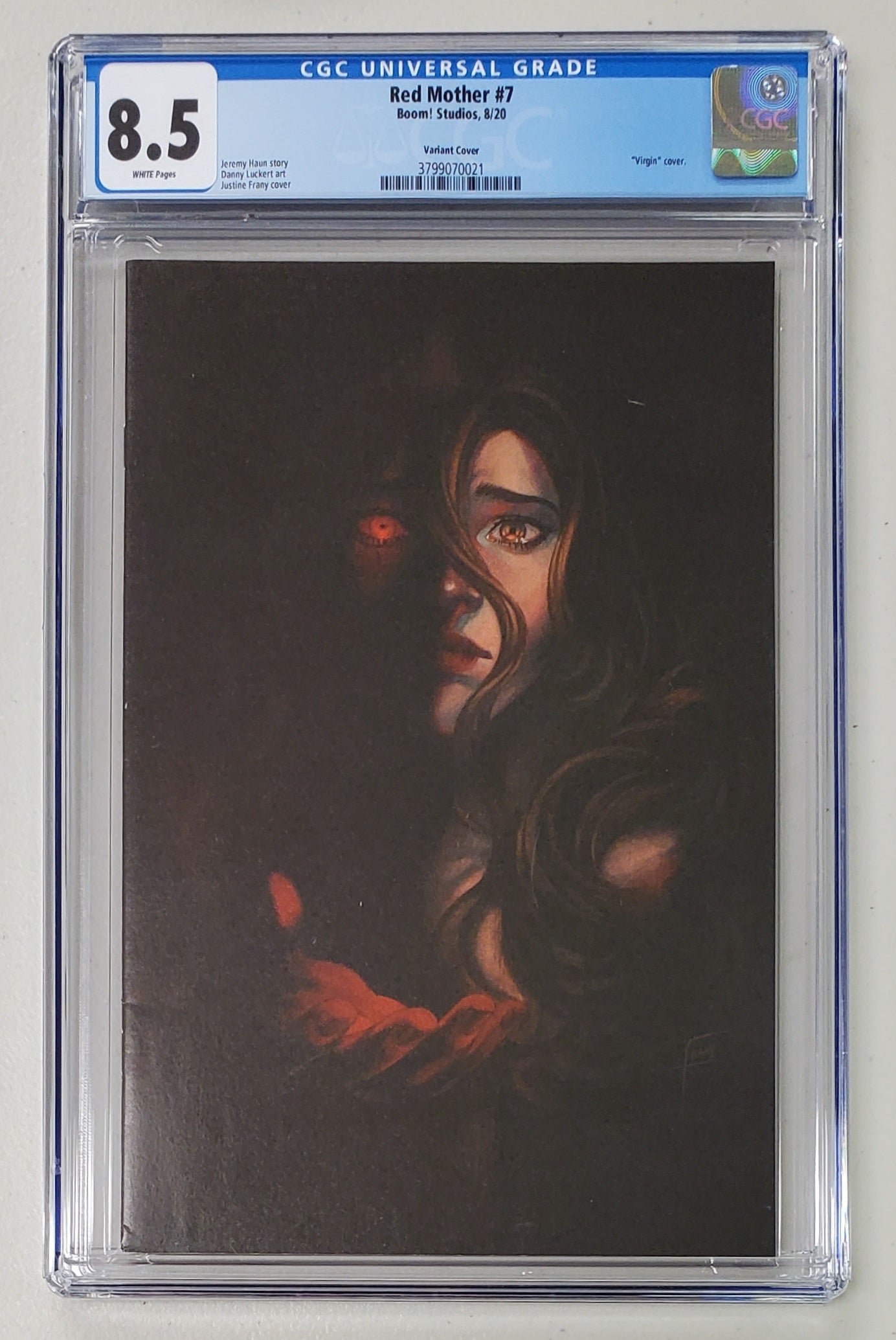 8.5 CGC Red Mother #1 Frany 1:10 Virgin Variant [3799070021]